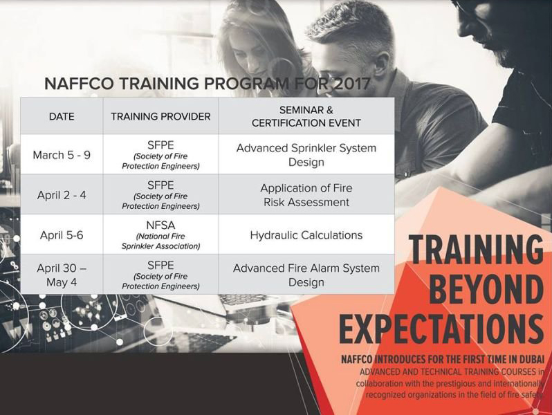NAFFCO introduces Advanced and Technical Training Courses in